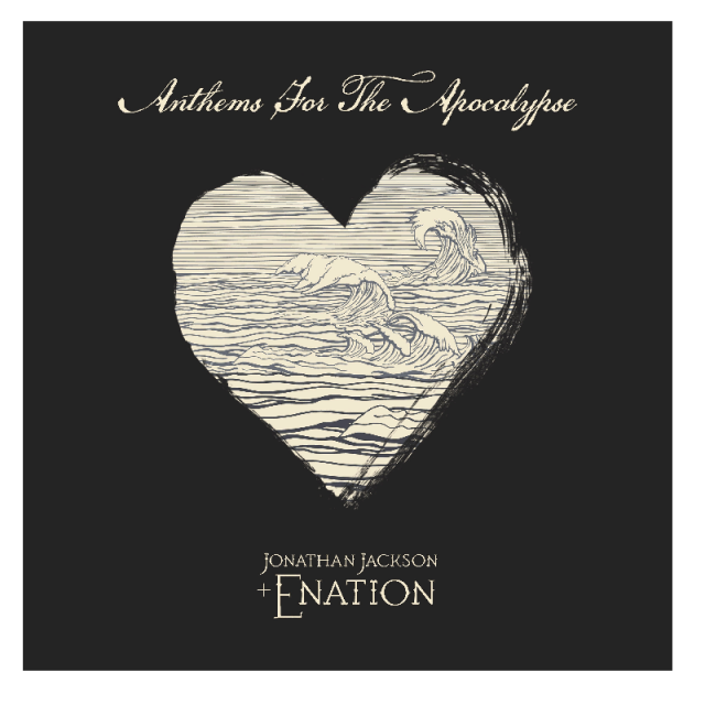 Jonathan Jackson + Enation CD- Anthems For The Apocalypse w/ AUTOGRAPHED 8x10